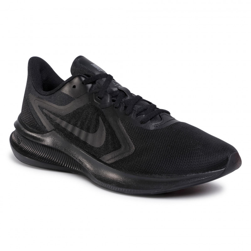 NIKE-Downshifter 10 black/black/iron grey 41 Čierna