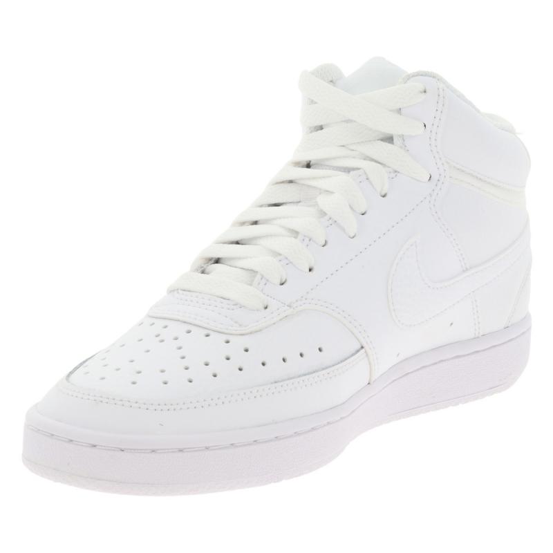 Dámská vycházková obuv NIKE-Wmns Court Vision Mid white / white / white -