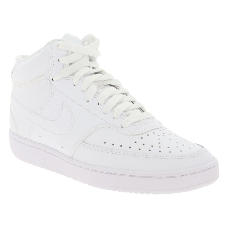 Dámska vychádzková obuv NIKE-Wmns Court Vision Mid white/white/white -