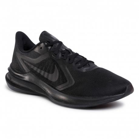 Pánska športová obuv (tréningová) NIKE-Downshifter 10 black/black/iron grey (EX)
