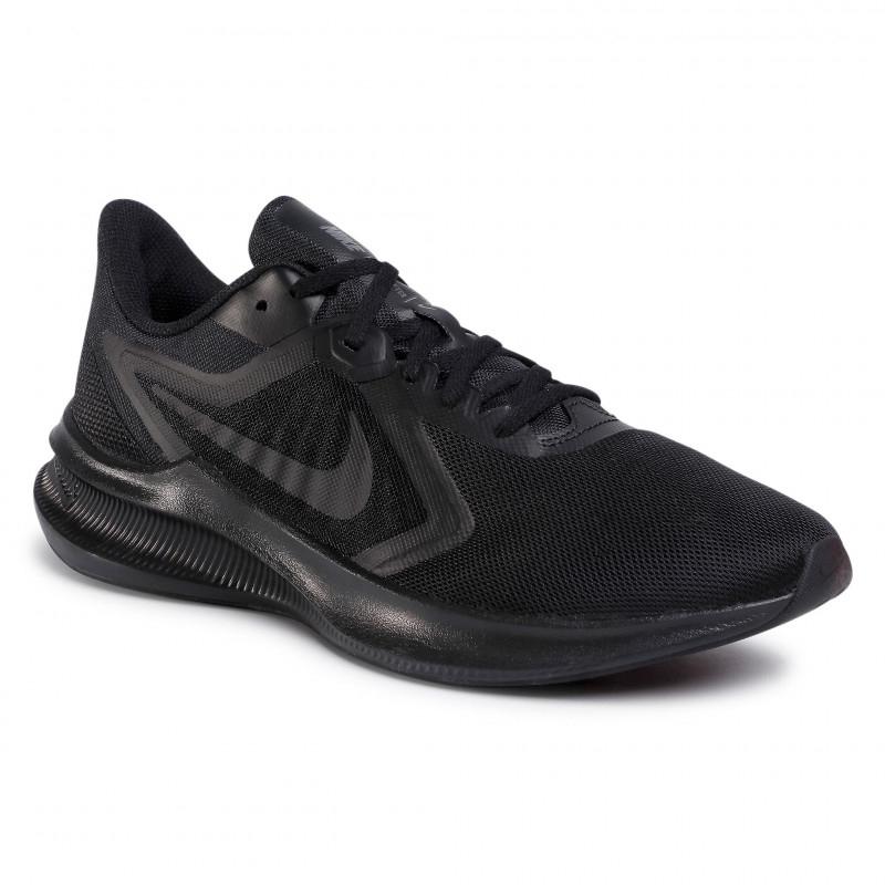 Pánska športová obuv (tréningová) NIKE-Downshifter 10 black/black/iron grey (EX) -