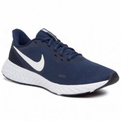 Pánska športová obuv (tréningová) NIKE-Revolution 5 midnight navy/white (EX)