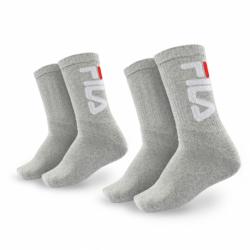 Sportovní ponožky FILA-F9598 SOCKS 2-PACK-400-GREY