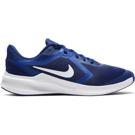 Juniorská sportovní obuv (tréninková) NIKE-Downshifter 10 GS deep royal blue / white / hyper blue