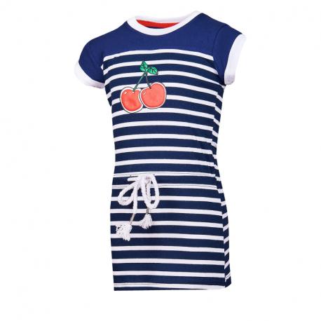 Dievčenské šaty AUTHORITY KIDS-SAMANTY DRESS_DS dk blue