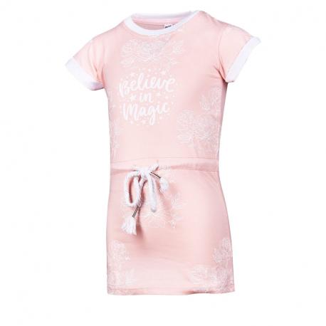 Dievčenské šaty AUTHORITY KIDS-SAMANTY DRESS_DS pink