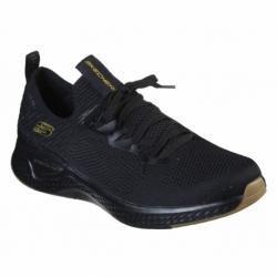 Pánska športová obuv (tréningová) SKECHERS-Solar Fuse Valedge black/gold