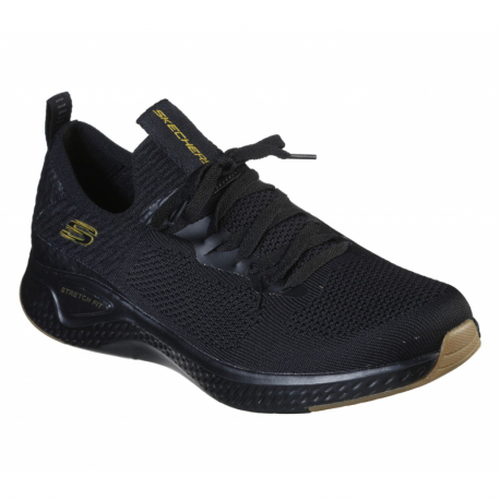 Pánska športová obuv (tréningová) SKECHERS-Solar Fuse Valedge black/gold (EX)