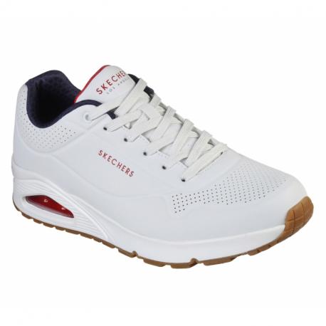 Pánska rekreačná obuv SKECHERS-Uno Stand On Air white