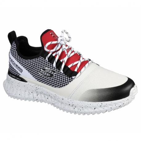 Pánska športová obuv (tréningová) SKECHERS-Matera 2.0 Belloq white/black