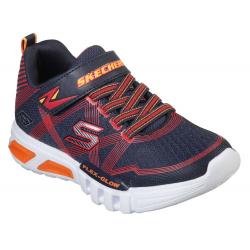 Detská rekreačná obuv SKECHERS-Flex Glow navy/red