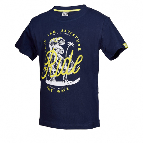 Chlapčenské tričko s krátkym rukávom AUTHORITY KIDS-ARTEOLY B_DS dk blue