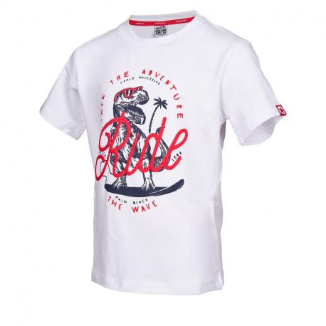 Chlapčenské tričko s krátkym rukávom AUTHORITY KIDS-ARTEOLY B_DS white