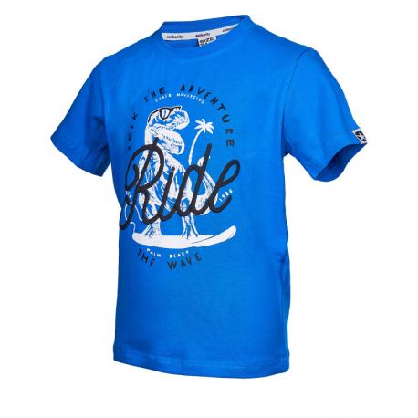 Chlapčenské tričko s krátkym rukávom AUTHORITY KIDS-ARTEOLY B_DS lt blue