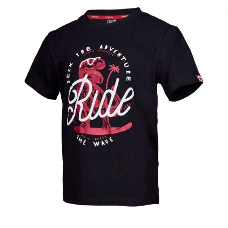 Chlapčenské tričko s krátkym rukávom AUTHORITY KIDS-ARTEOLY B_DS black