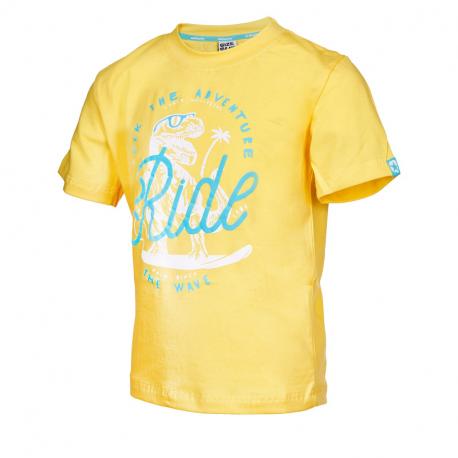 Chlapčenské tričko s krátkym rukávom AUTHORITY KIDS-ARTEOLY B_DS yellow