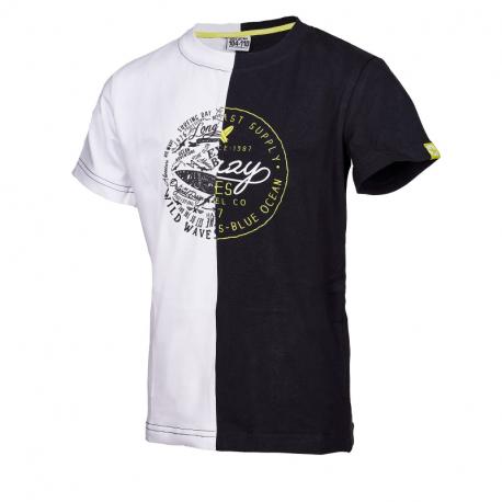 Chlapčenské tričko s krátkym rukávom AUTHORITY KIDS-SURFYN B_DS white