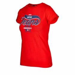 Dámske tričko s krátkym rukávom AUTHORITY-ARETTY_DS red