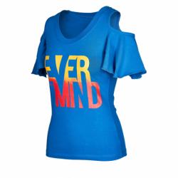 Dámske tričko s krátkym rukávom AUTHORITY-TMIND_SRdk blue