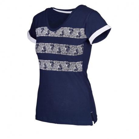 Dámske tričko s krátkym rukávom AUTHORITY-SAFIRY_DS dk blue