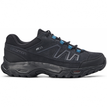 Dámska turistická obuv nízka SALOMON-Blackwood CSW black/black/tahitian tide