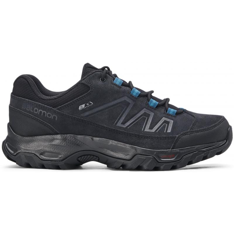 Dámska turistická obuv nízka SALOMON-Blackwood CSW black/black/tahitian tide -