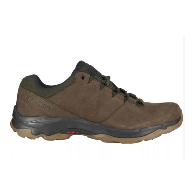 Pánska turistická obuv nízka SALOMON-Sirocco delicioso/trophy bro/black -