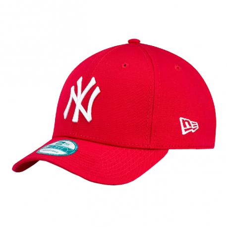 Šiltovka NEW ERA-940 MBL BASIC NY Yankees Red/White NOS