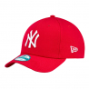 NEW ERA-940 MBL BASIC NY Yankees  Red/White NOS