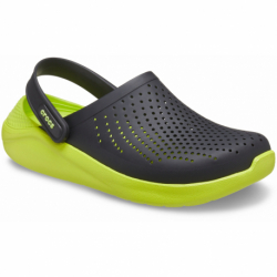 Kroksy (rekreační obuv) CROCS-LiteRide Clog black / lime punch