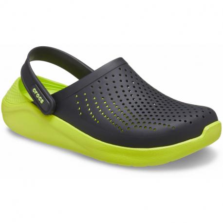 Kroksy (rekreačná obuv) CROCS-LiteRide Clog black/lime punch