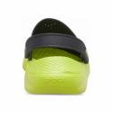 Kroksy (rekreační obuv) CROCS-LiteRide Clog black / lime punch -
