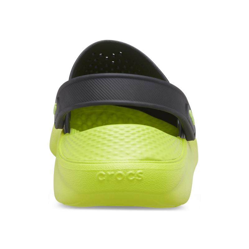 Kroksy (rekreačná obuv) CROCS-LiteRide Clog black/lime punch (EX) -