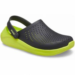 Kroksy (rekreační obuv) CROCS-LiteRide Clog black / lime punch (EX)