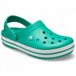 Kroksy (rekreační obuv) CROCS-Crocband deep green / white