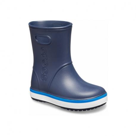 Dětské gumáky CROCS-Crocband Rain Boot K navy / bright cobalt