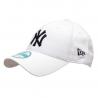 NEW ERA-940  MBL BASIC NY Yankees White/Black NOS