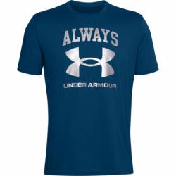 Pánske tričko s krátkym rukávom UNDER ARMOUR-UA ALWAYS UNDER ARMOUR SS-BLU