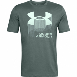Pánske tričko s krátkym rukávom UNDER ARMOUR-UA BIG LOGO WORDMARK SS-BLU