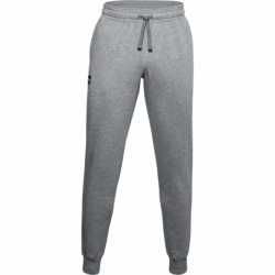 Pánske teplákové nohavice UNDER ARMOUR-UA Rival Fleece Joggers-GRY 012