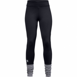 Dievčenské legíny UNDER ARMOUR-ColdGear Legging-BLK