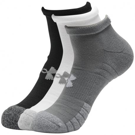 Pánske ponožky UNDER ARMOUR-UA Heatgear Locut -GRY-3PK