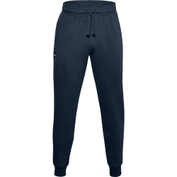 Pánske teplákové nohavice UNDER ARMOUR-UA Rival Fleece Joggers-NVY