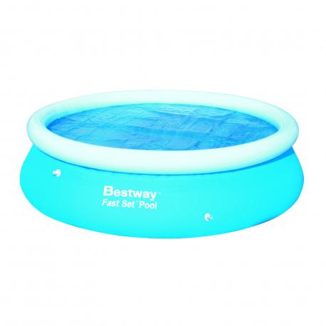 Bestway 10x30 solar pool cover exisport eshop for Bestway pool folie