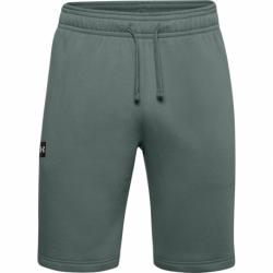 Pánske teplákové kraťasy UNDER ARMOUR-UA Rival Fleece Shorts-BLU