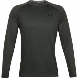 Pánské tréninkové triko s dlouhým rukávem UNDER ARMOUR-UA Textured LS-GRN