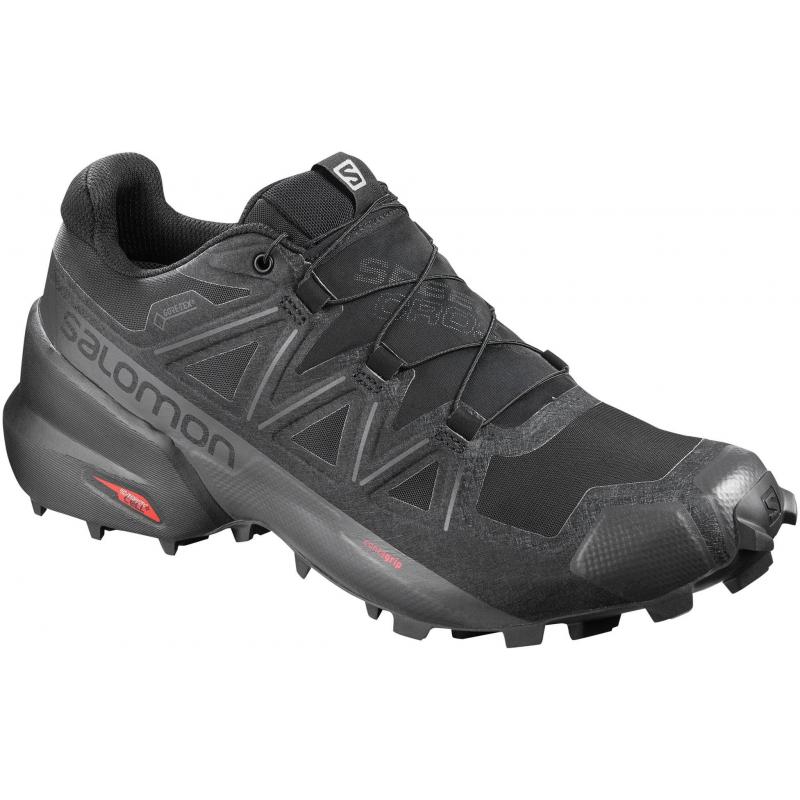 Pánska trailová obuv SALOMON-Speedcross 5 GTX black/black/phantom -