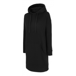 Dámska mikina s kapucňou 4F-WOMENS DRESS-H4Z20-SUDD011-20S-DEEP BLACK