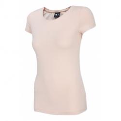 Dámske tričko s krátkym rukávom 4F-WOMENS T-SHIRT-H4Z20-TSD014-56S-LIGHT PINK