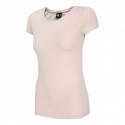 Dámske tričko s krátkym rukávom 4F-WOMENS T-SHIRT-H4Z20-TSD014-56S-LIGHT PINK -